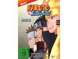 Naruto Shippuden Staffel 23 Der Ursprung des Ninshu Die zwei Seelen Indora und Ashura Folgen 679 689 3 DVDs