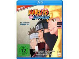 Naruto Shippuden Staffel 23 Der Ursprung des Ninshu Die zwei Seelen Indora und Ashura Folgen 679 689 2 BRs