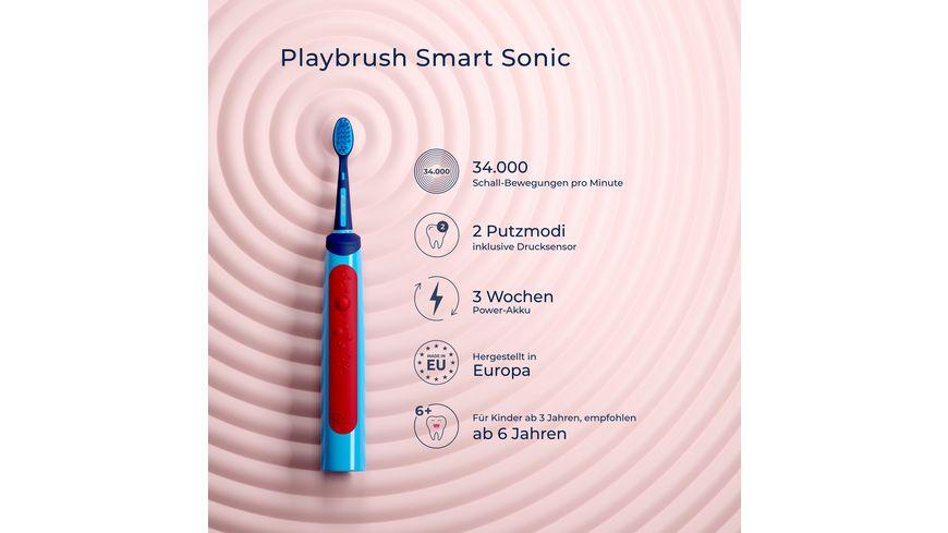 Playbrush Smart Sonic Schallzahnbuerste fuer Kinder mit interaktiver App