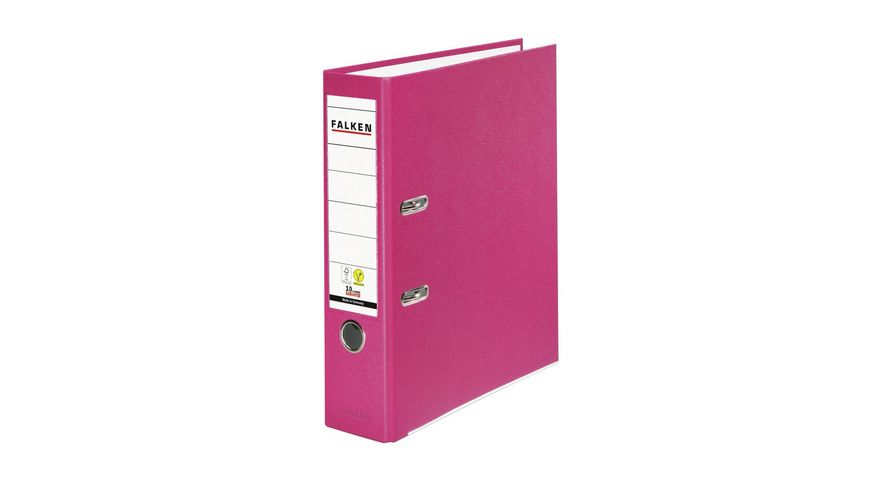 herlitz Ordner maX file PP A4 8cm pink