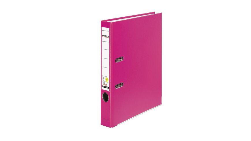 herlitz Ordner maX file PP A4 5cm pink