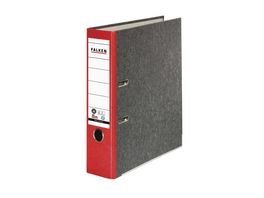 herlitz Ordner maX file Pappe A4 8cm rot