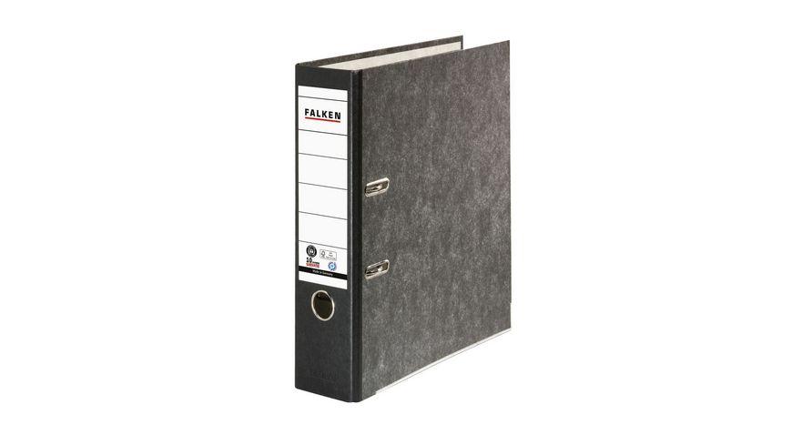 herlitz Ordner maX.file Pappe A4 8cm schwarz