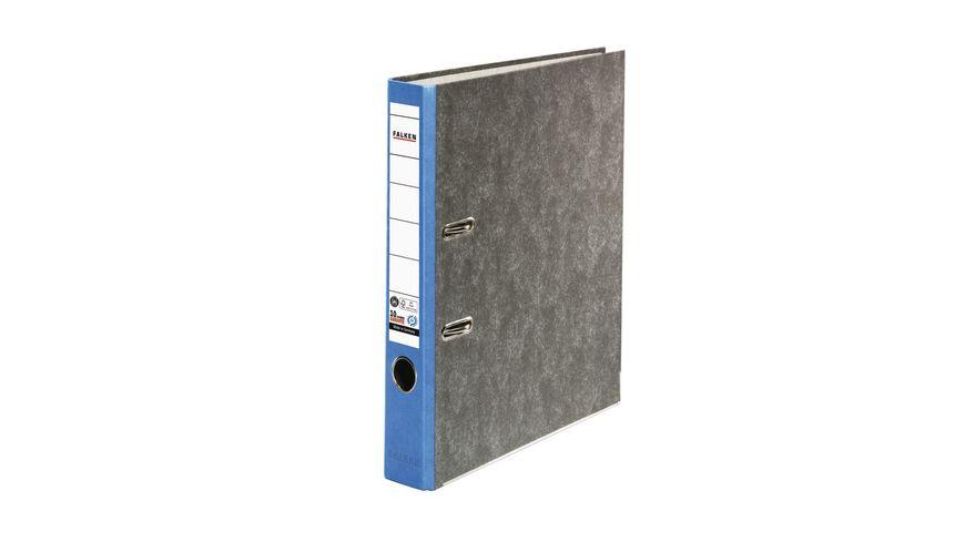 herlitz Ordner maX file Pappe A4 5cm blau