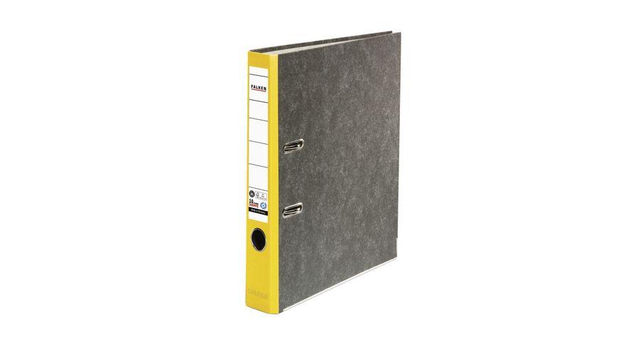 herlitz Ordner maX file Pappe A4 5cm gelb