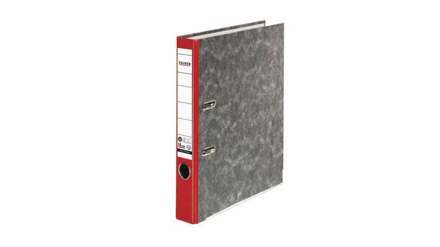 herlitz Ordner maX file Pappe A4 5cm rot
