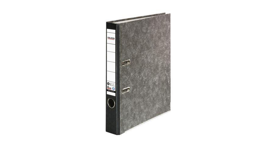 herlitz Ordner maX file Pappe A4 5cm schwarz