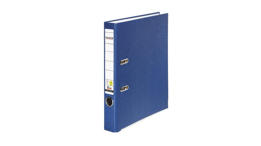 herlitz Ordner maX file PP A4 5cm dunkelblau