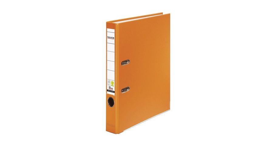 herlitz Ordner maX file PP A4 5cm orange