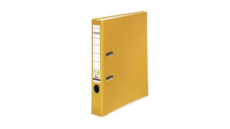 herlitz Ordner maX file PP A4 5cm gelb