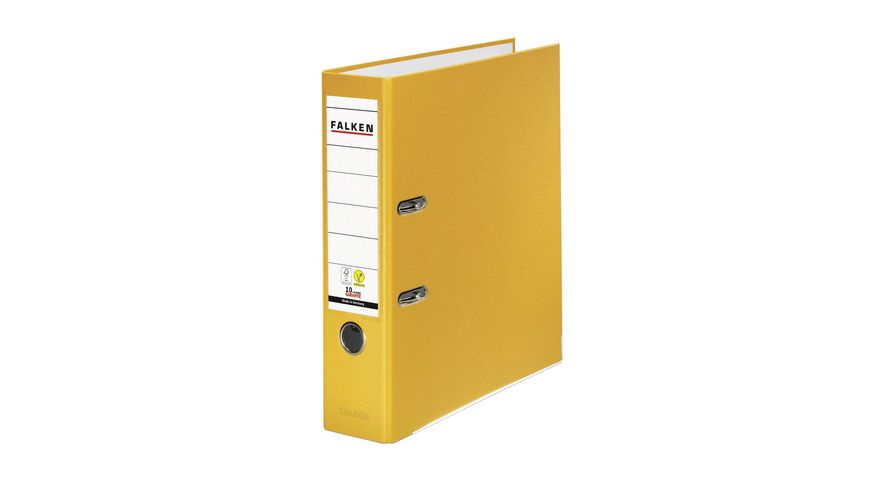 herlitz Ordner maX file protect A4 breit gelb