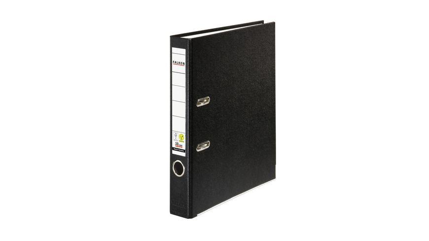 herlitz Ordner maX file PP A4 5cm schwarz