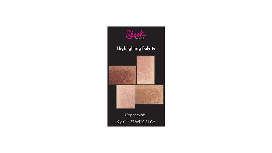 Sleek Highlighting Palette Copperplate