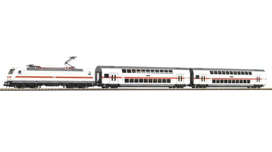 PIKO 57133 Start Set BR 146 mit 2 IC Doppelstockwagen