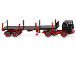 Wiking 0518 45 Rungensattelzug MB 1620 Eisen und Stahlhandel A G