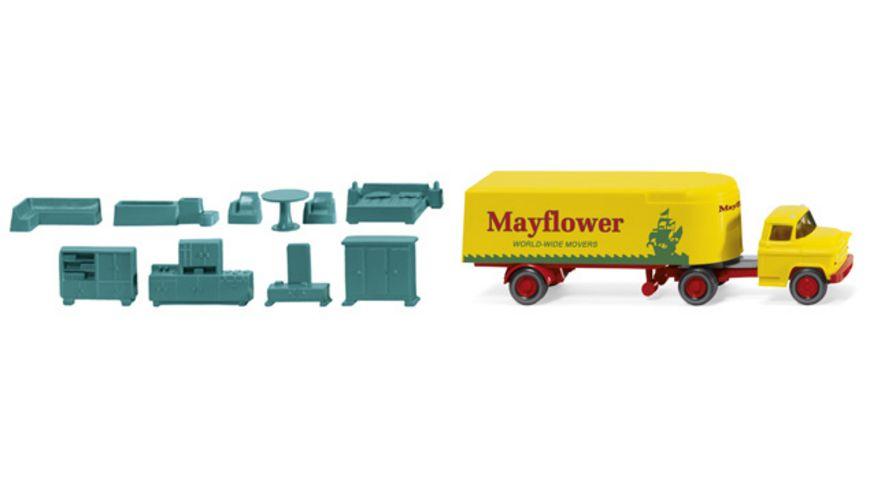 Wiking 0521 02 Koffersattelzug Chevrolet Mayflower