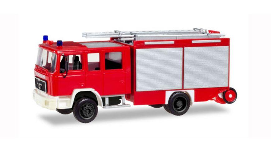 Herpa 094092 MAN M 90 LF 16 Loeschfahrzeug Feuerwehr