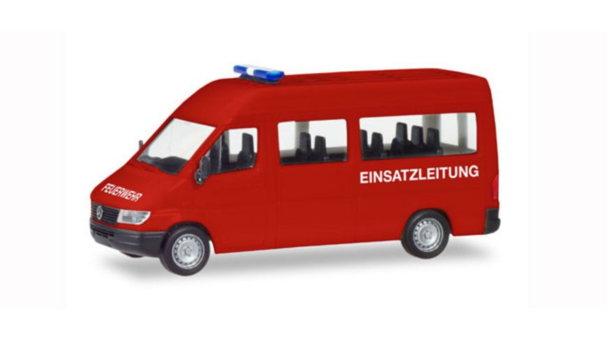 Herpa 094115 Mercedes Benz Sprinter 96 Bus Feuerwehr