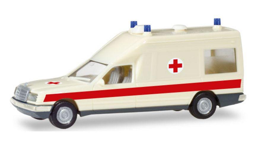 Herpa 094153 Mercedes Benz Miesen KTW DRK