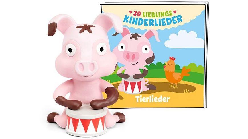 tonies Hoerfigur fuer die Toniebox 30 Lieblings Kinderlieder Tierlieder