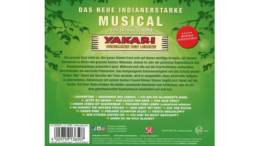 Yakari Das Musical 2 Geheimnis Des Lebens