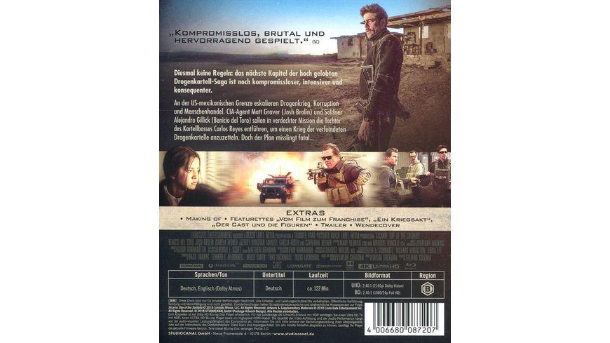 Sicario 2 4K Ultra HD Blu ray