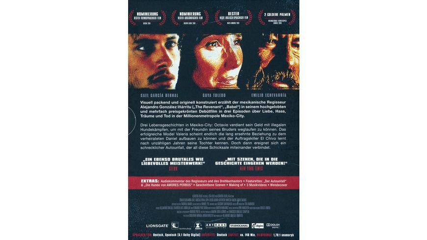 Amores Perros Special Edition Digital Remastered 2 DVDs