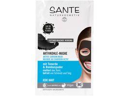 SANTE Aktivkohle Maske