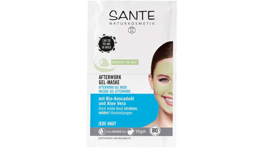 SANTE Afterwork Gel Maske