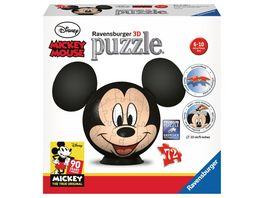 Ravensburger Puzzle 3D puzzleball Disney Mickey Mouse mit Ohren 72 Teile