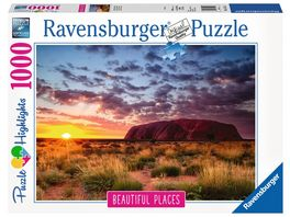 Ravensburger Puzzle Ayers Rock in Australien 1000 Teile