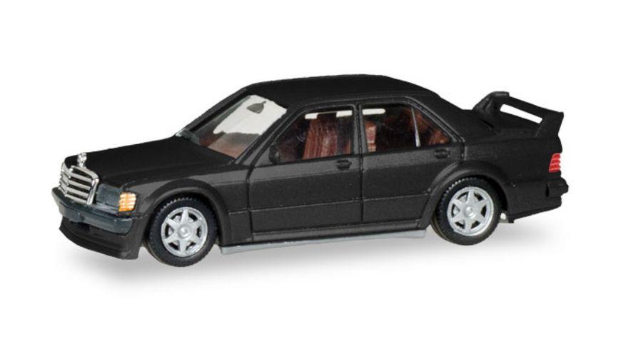 Herpa 430654 Mercedes Benz E 190 E 2 5 16V schwarz metallic