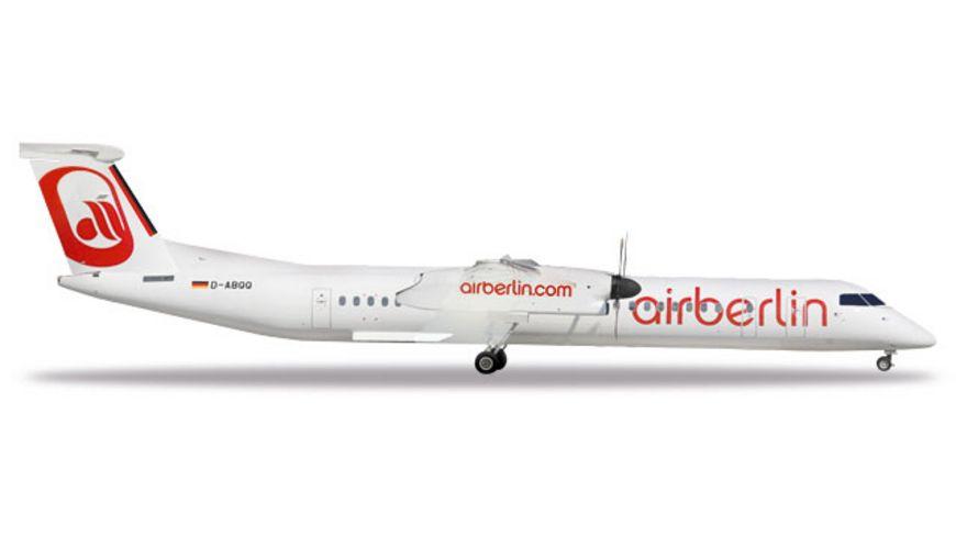 Herpa 531689 Air Berlin Bombardier Q400 Albino colors