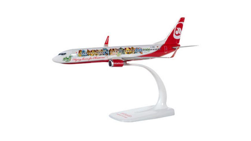 Herpa 612050 Air Berlin Boeing 737 800 Flying home for Christmas