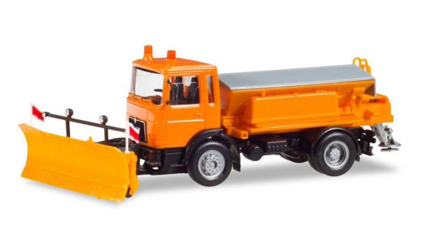 Herpa 309547 MAN F8 Winterdienstfahrzeug kommunal