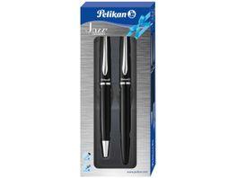 Pelikan Schreib Set Fueller Kugelschreiber schwarz