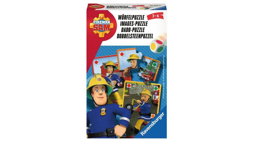 Ravensburger Spiel Feuerwehrmann Sam Wuerfelpuzzle