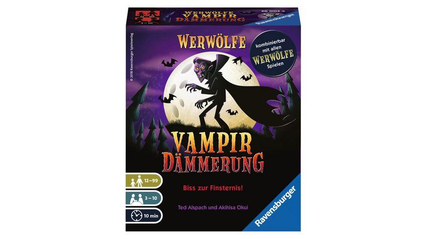 Ravensburger Spiel Werwoelfe Vampirdaemmerung