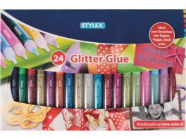 STYLEX Geschenkkarton Glitter Glue 24er Set