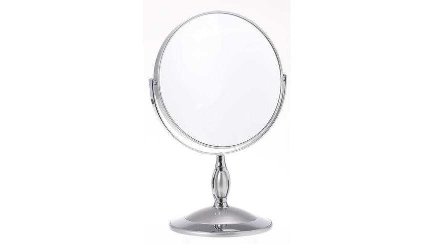 Stellspiegel 7x Vergroesserung silber