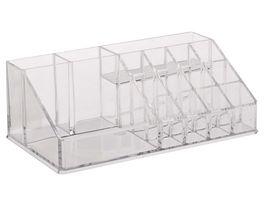 Kosmetikorganizer Kunststoff transparent