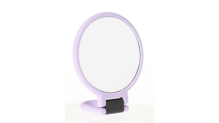 Hand und Stellspiegel 2x Vergroesserung farbig sortiert