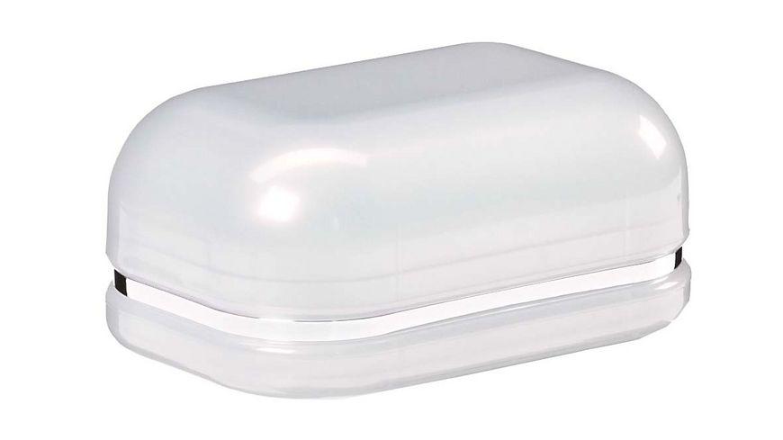 Seifendose Kunststoff perlmutt