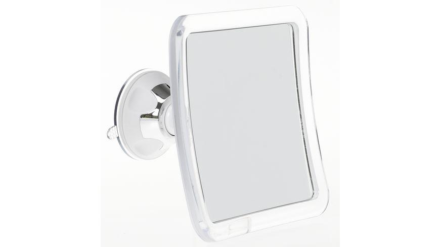 Saugnapf Spiegel 7x Vergroesserung schwenkbar