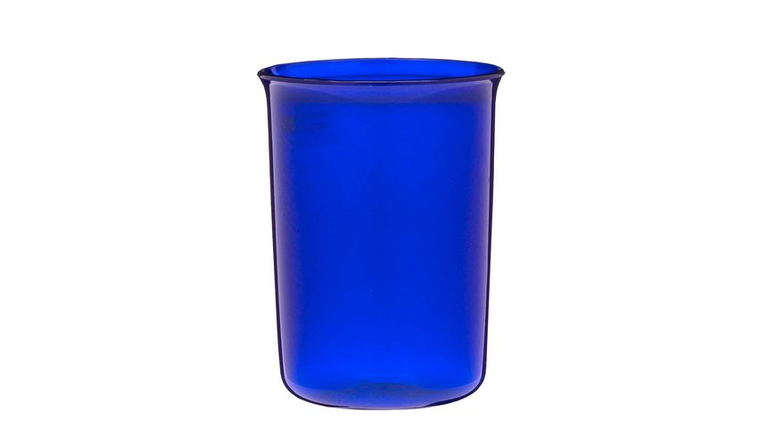 Mundbecher perlmutt blau