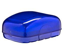 Seifendose perlmutt blau
