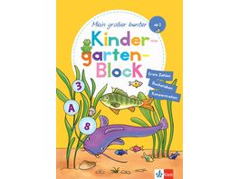 Klett Mein grosser bunter Kindergarten Block
