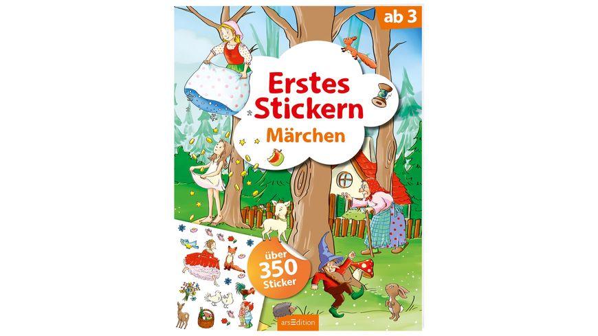 Erstes Stickern Maerchen
