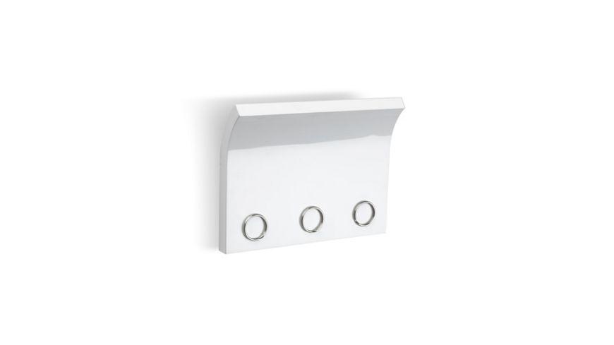 umbra Magnetter Magnet Schluesselhalter und Briefhalter weiss