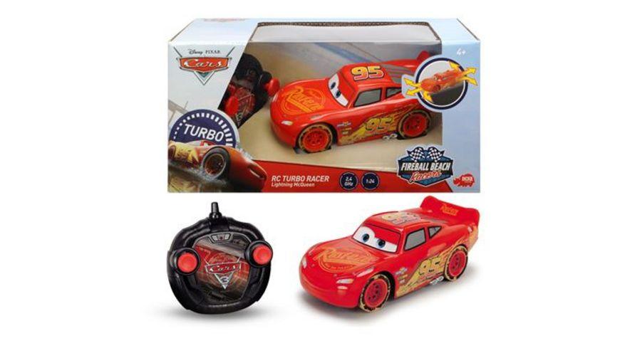 Dickie Toys Disney Cars RC Beach Lightning McQueen